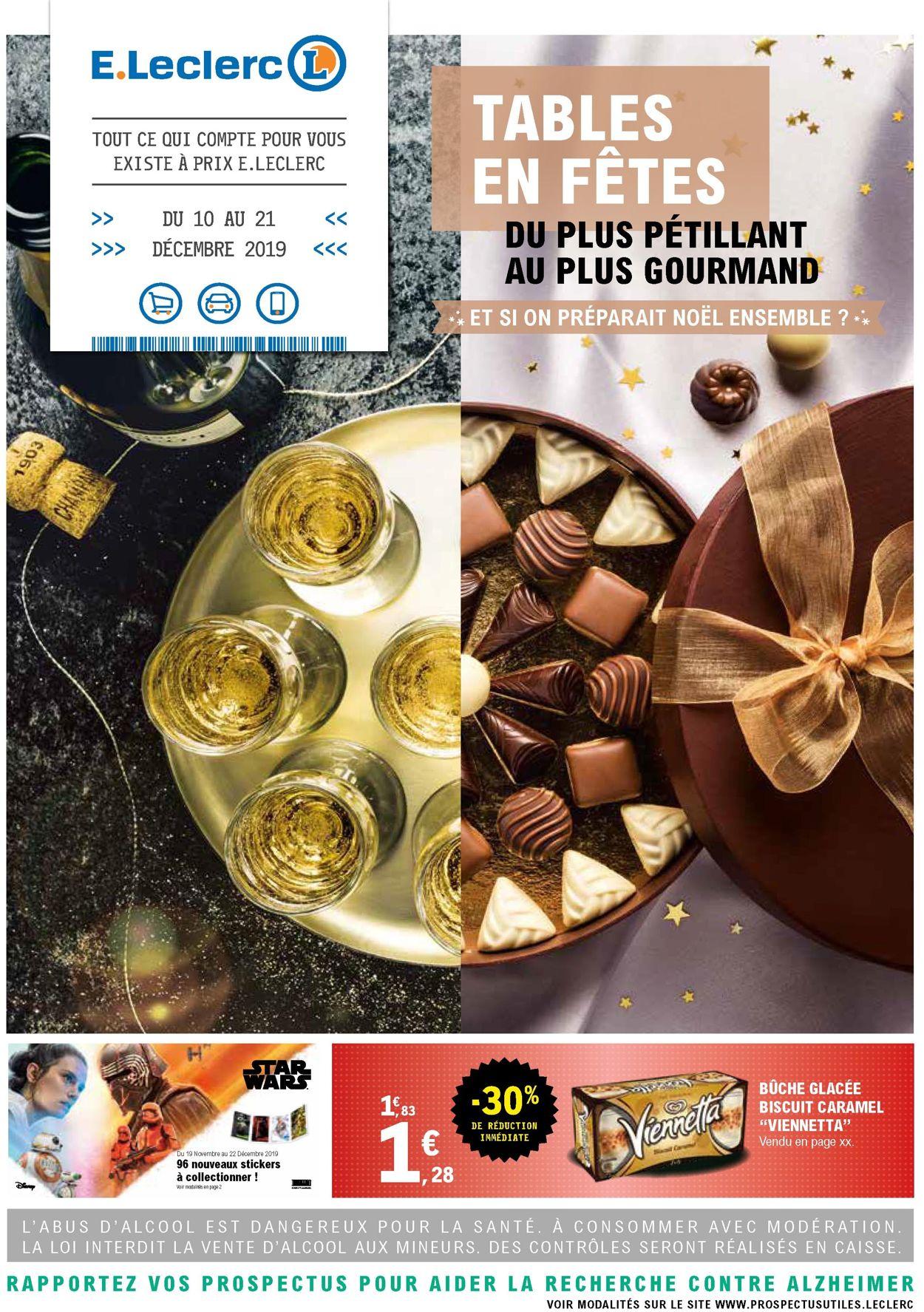 E.leclerc catalogue de Noël 2019 Catalogue - 10.12-21.12.2019
