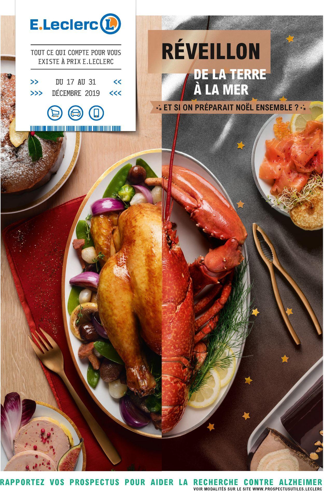 E.leclerc catalogue de Noël 2019 Catalogue - 17.12-31.12.2019