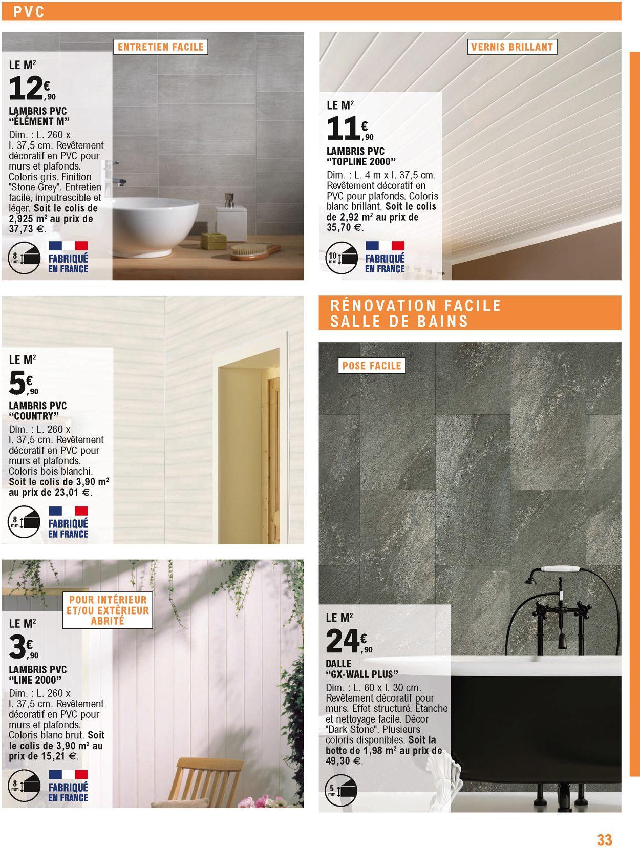 E.leclerc Catalogue - 14.01-31.12.2020 (Page 33)