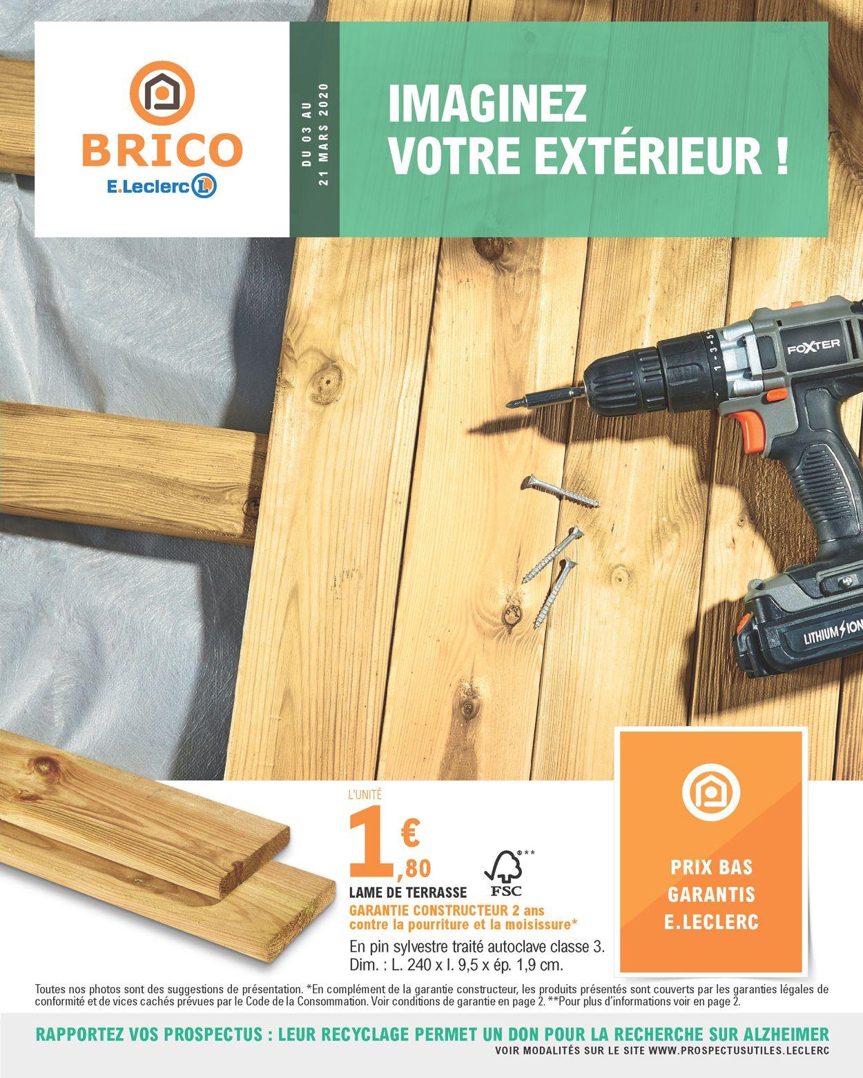 E.leclerc Catalogue - 03.03-21.03.2020
