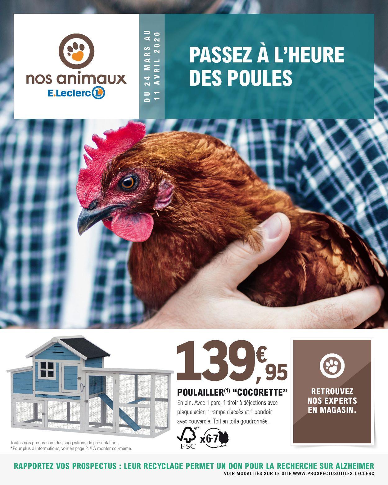 E.leclerc Catalogue - 24.03-11.04.2020