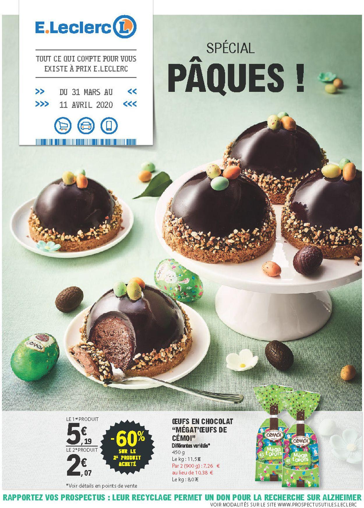 E.leclerc Catalogue - 31.03-12.04.2020