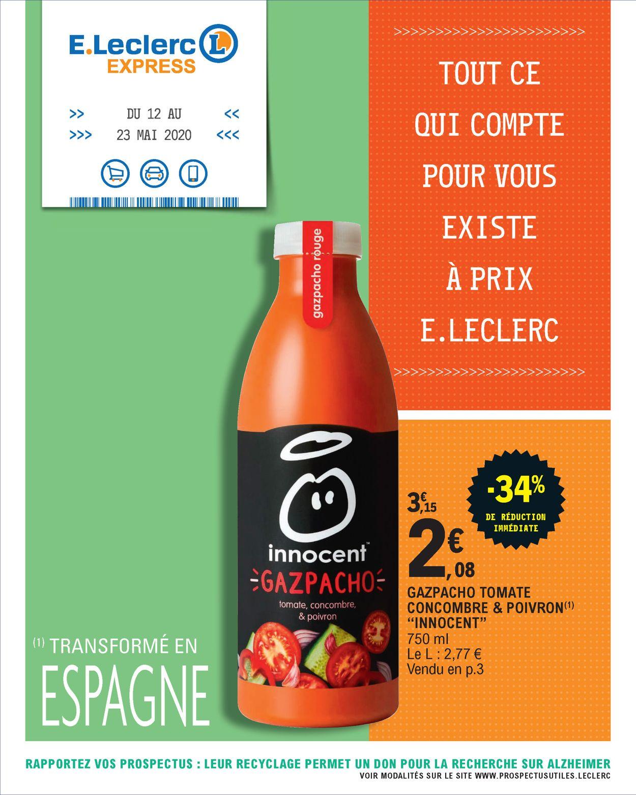 E.leclerc Catalogue - 12.05-23.05.2020