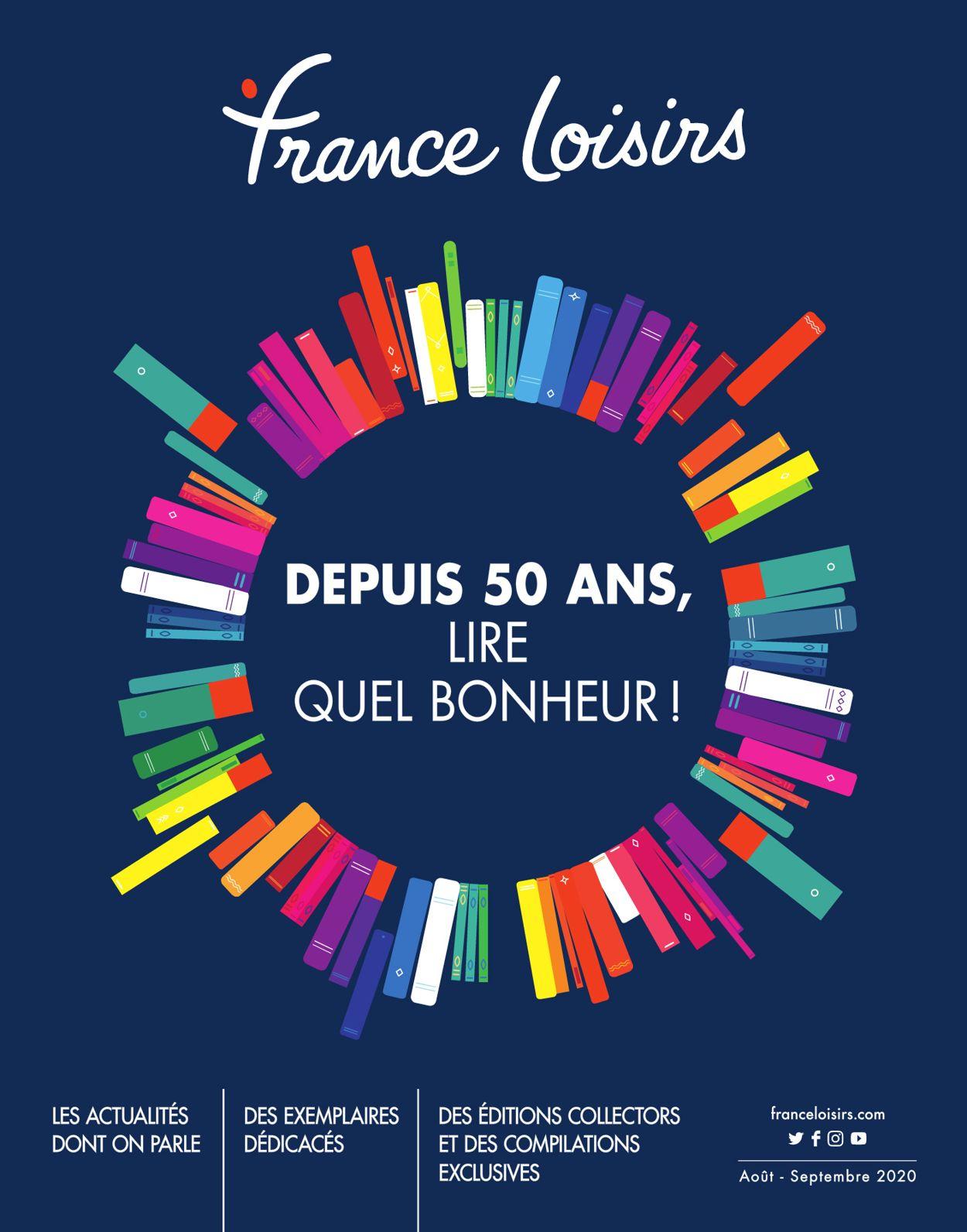 France Loisirs Catalogue - 01.08-01.09.2020
