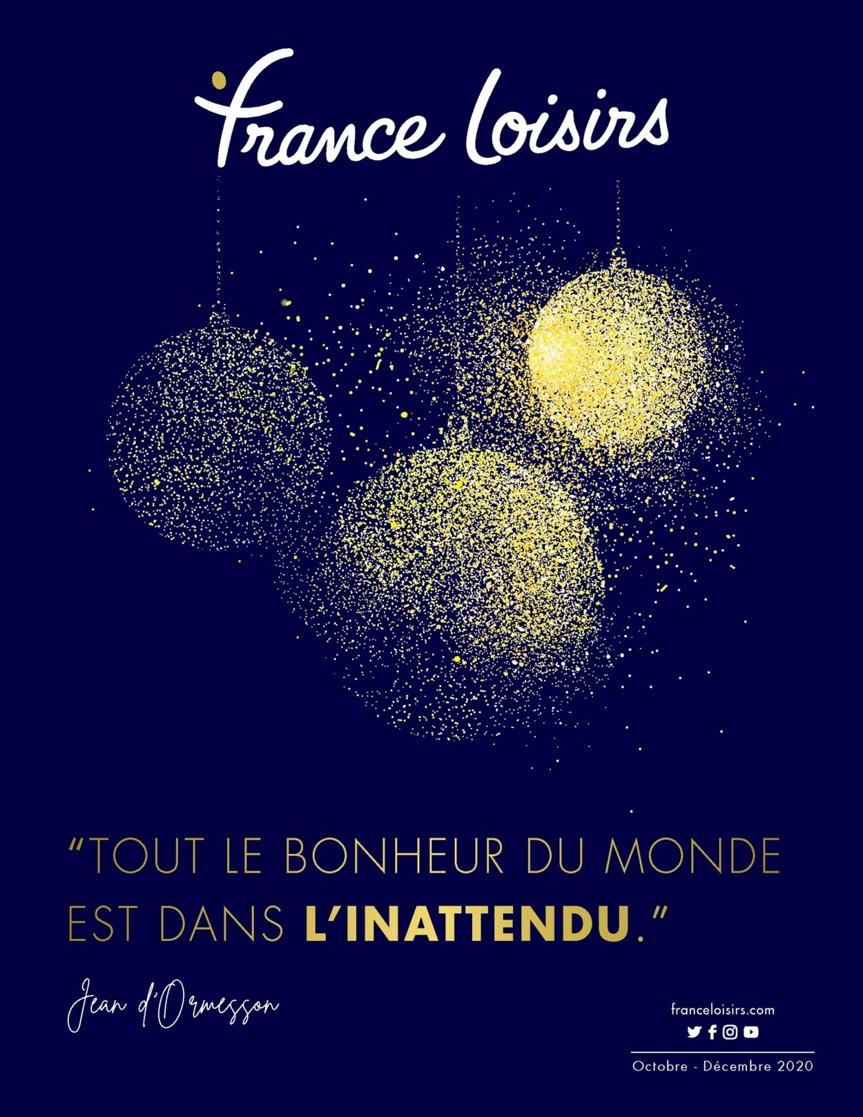 France Loisirs Catalogue - 09.10-31.12.2020