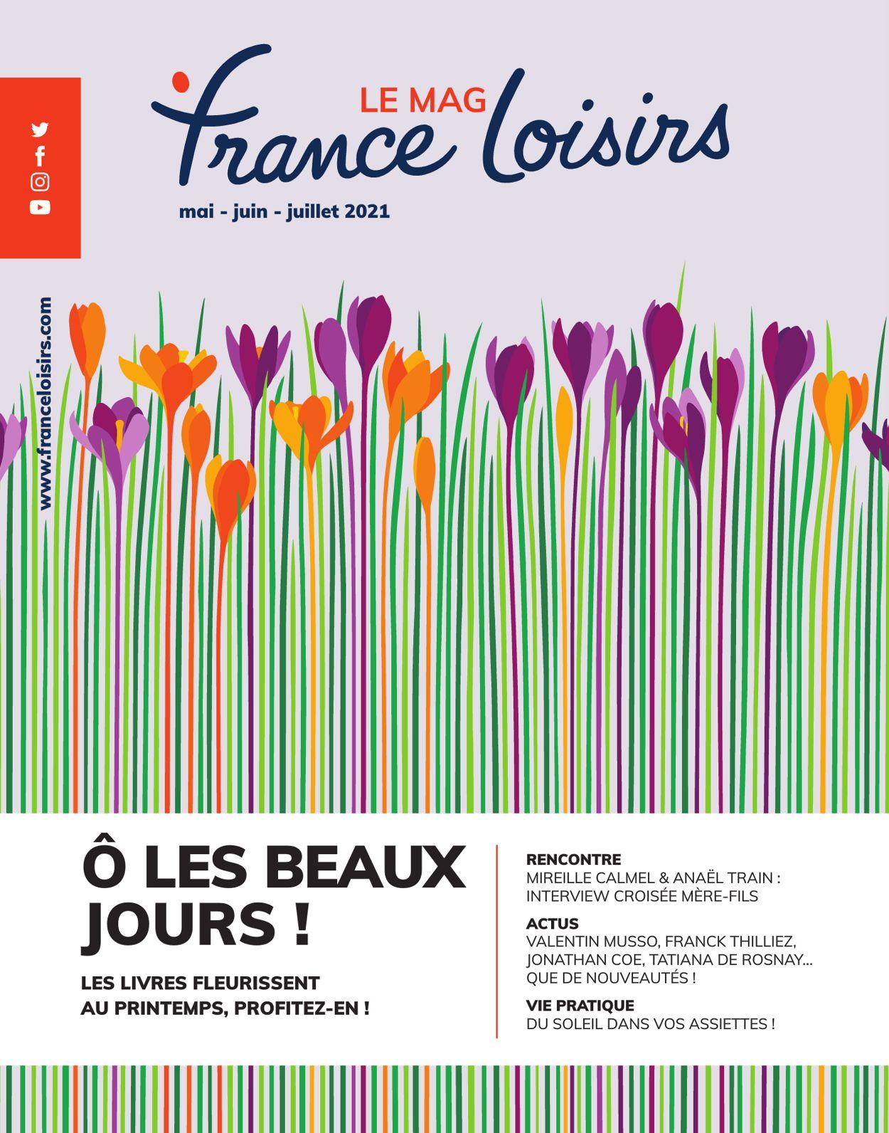 France Loisirs Catalogue - 01.05-31.07.2021