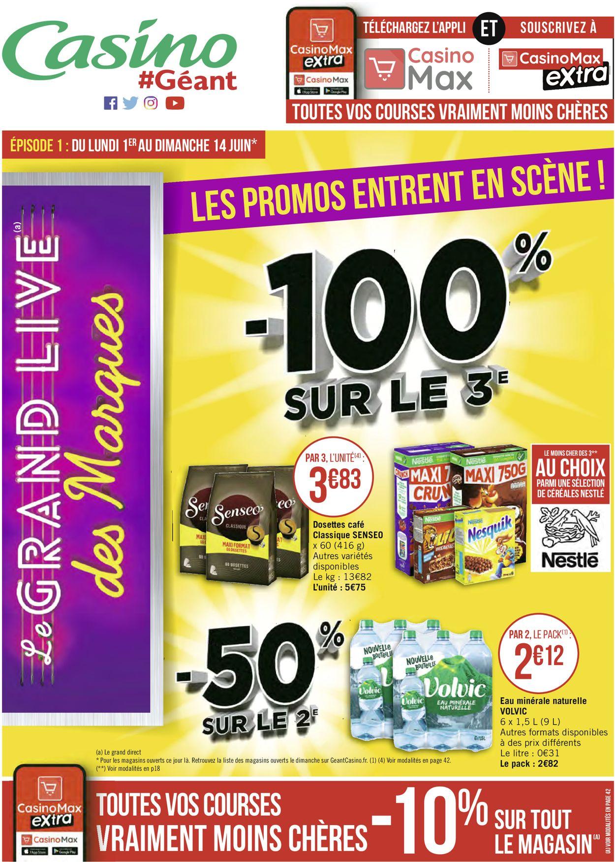 Géant Casino Catalogue - 01.06-14.06.2020