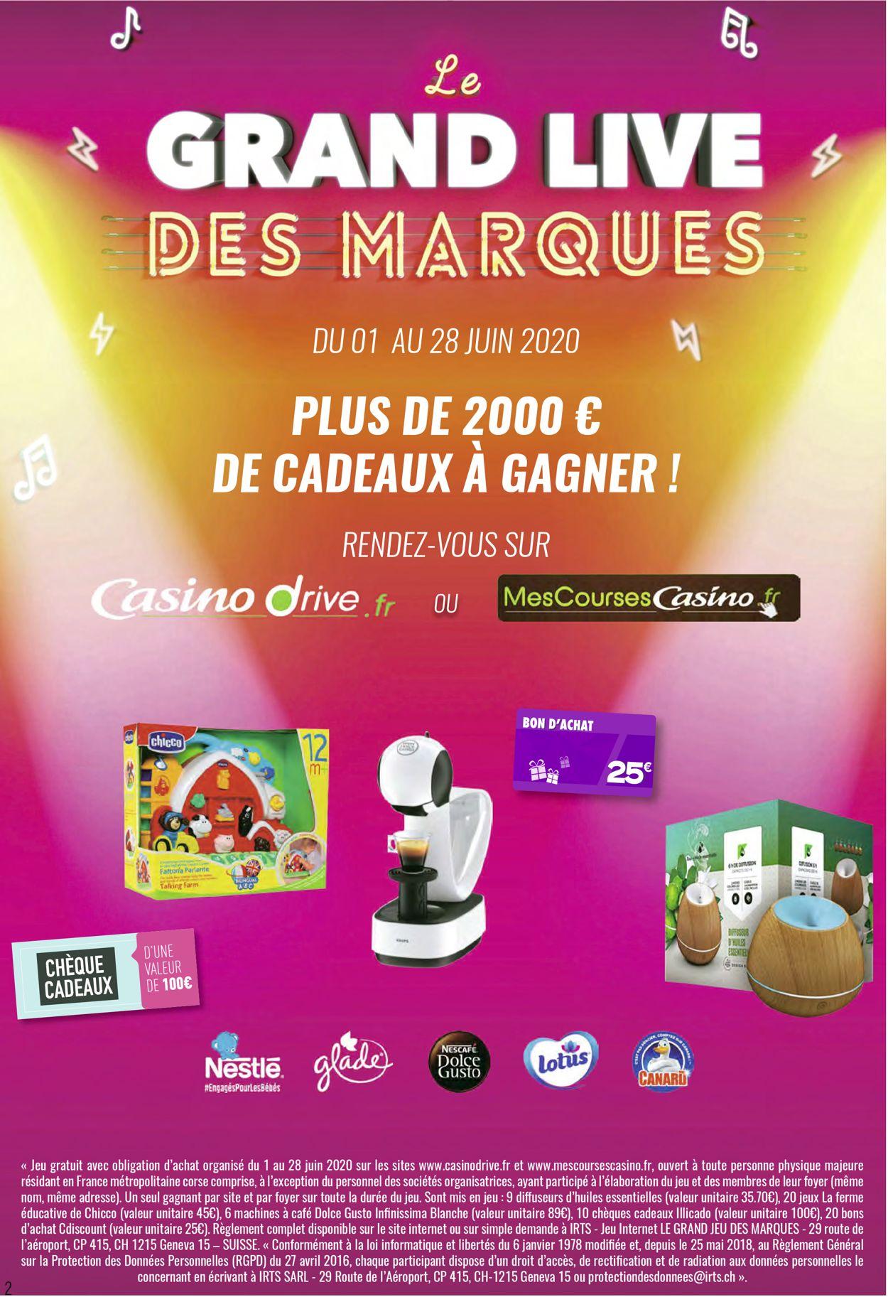 Géant Casino Catalogue - 08.06-21.06.2020 (Page 2)
