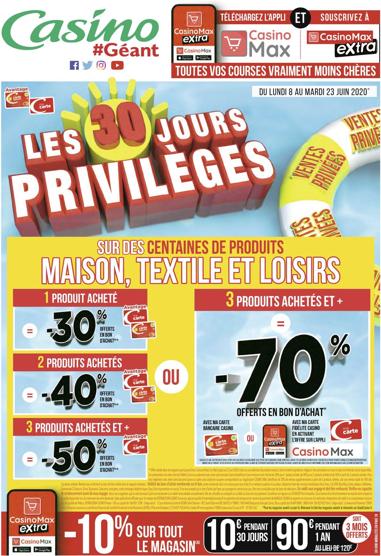 Géant Casino Catalogue - 08.06-21.06.2020 (Page 48)
