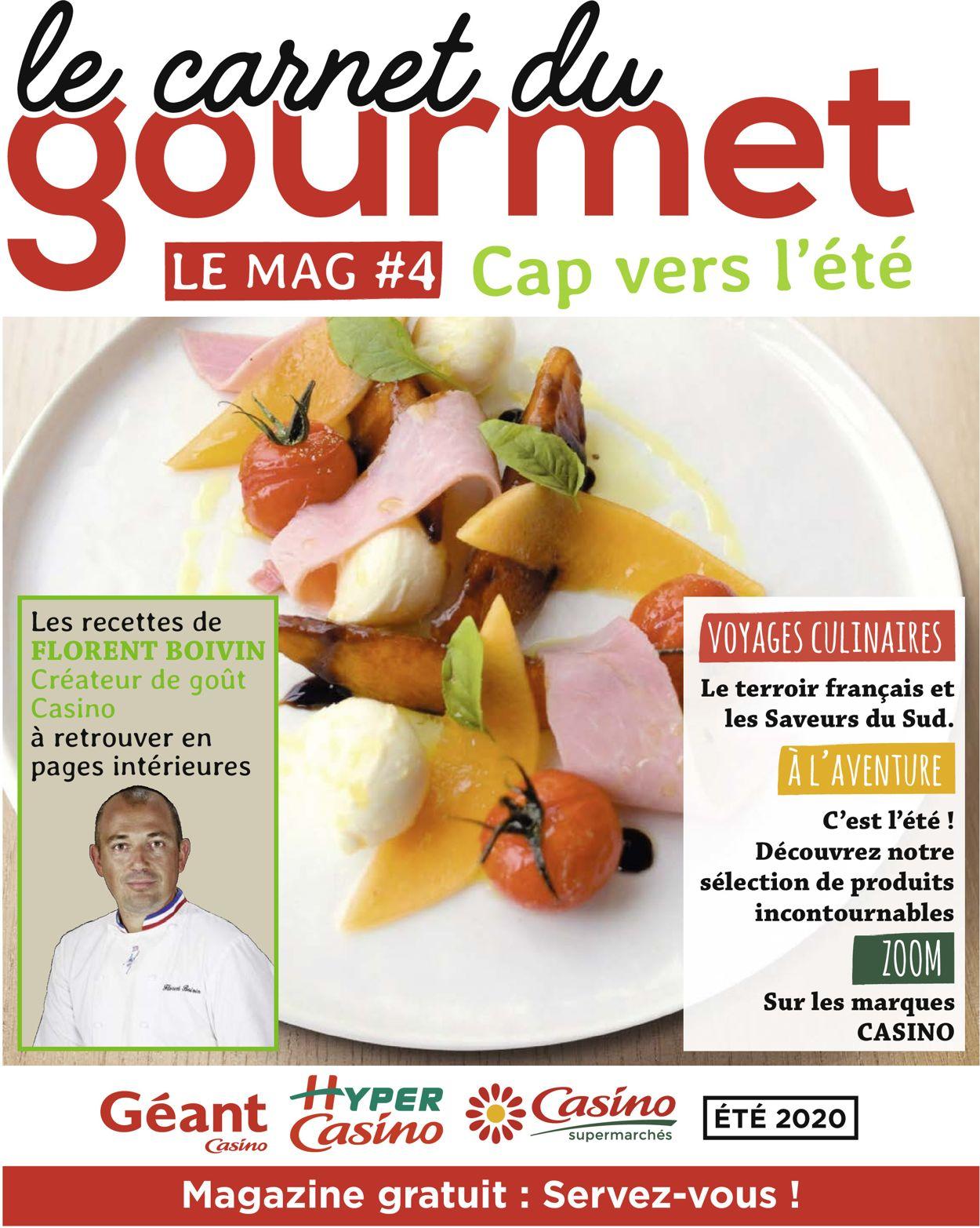 Géant Casino Catalogue - 15.06-31.08.2020