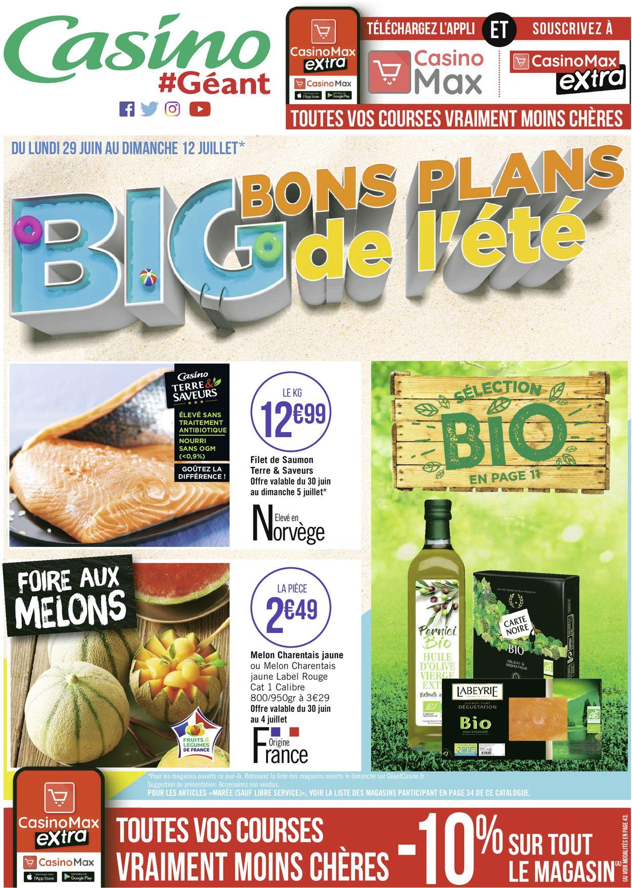 Géant Casino Catalogue - 29.06-12.07.2020