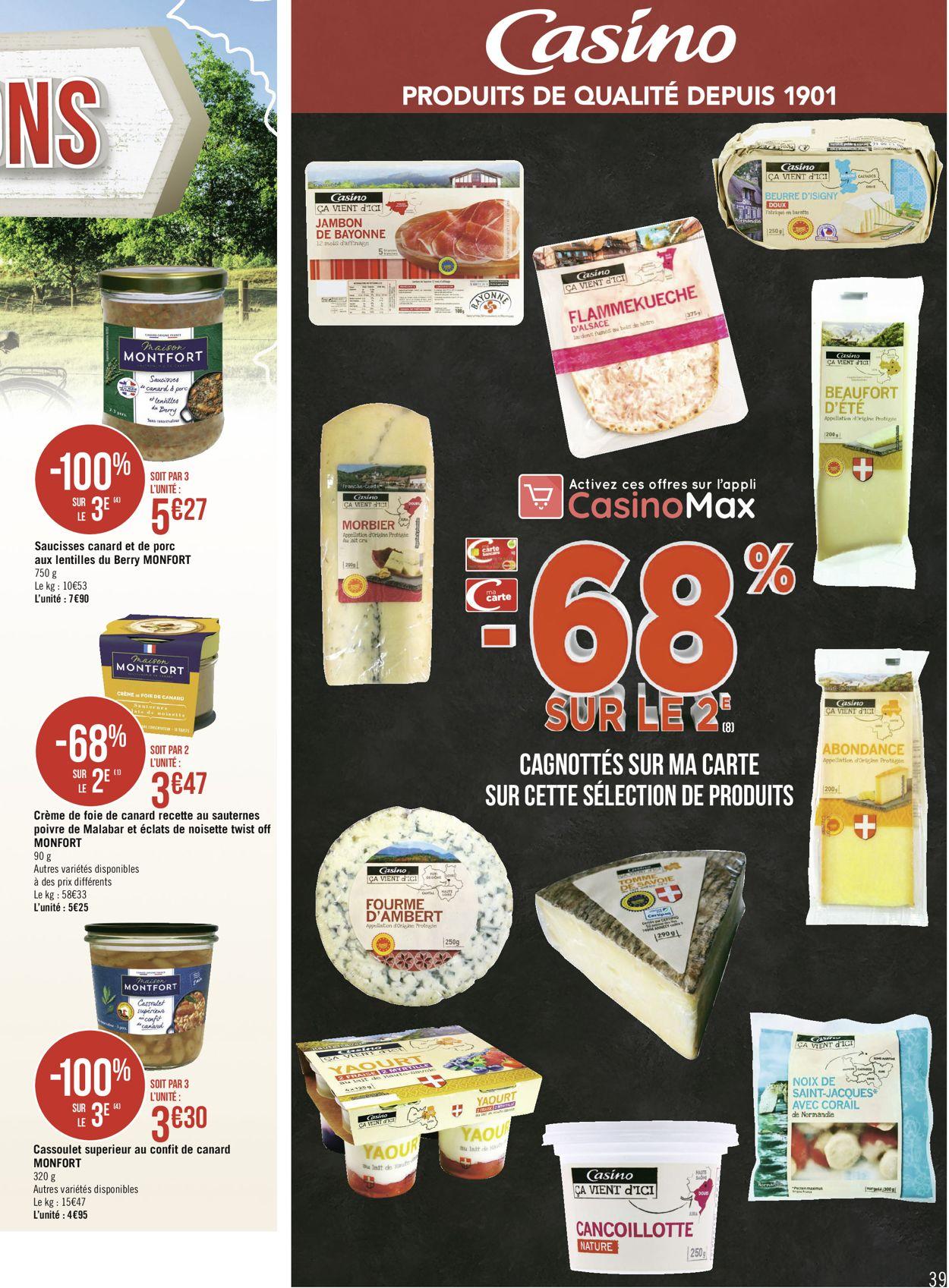 Géant Casino Catalogue - 29.06-12.07.2020 (Page 39)