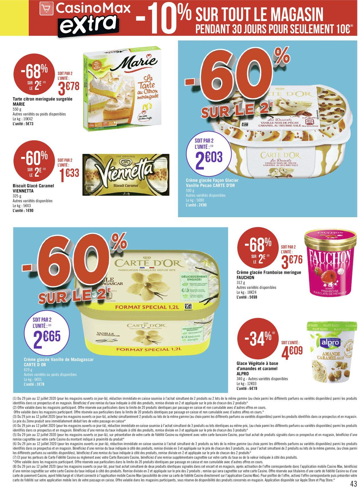 Géant Casino Catalogue - 29.06-12.07.2020 (Page 43)