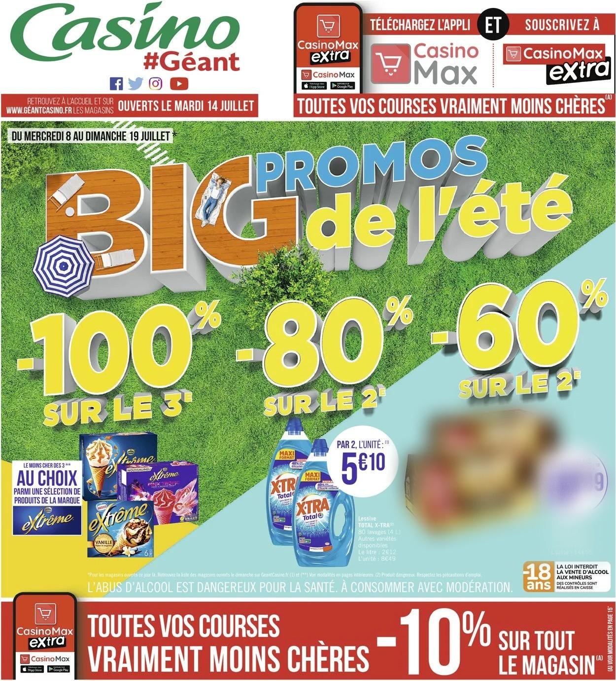 Géant Casino Catalogue - 08.07-19.07.2020