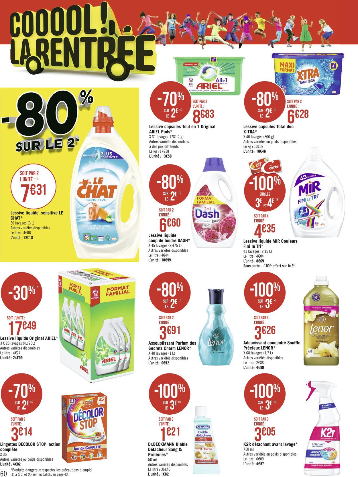 Géant Casino Catalogue - 17.08-30.08.2020 (Page 60)