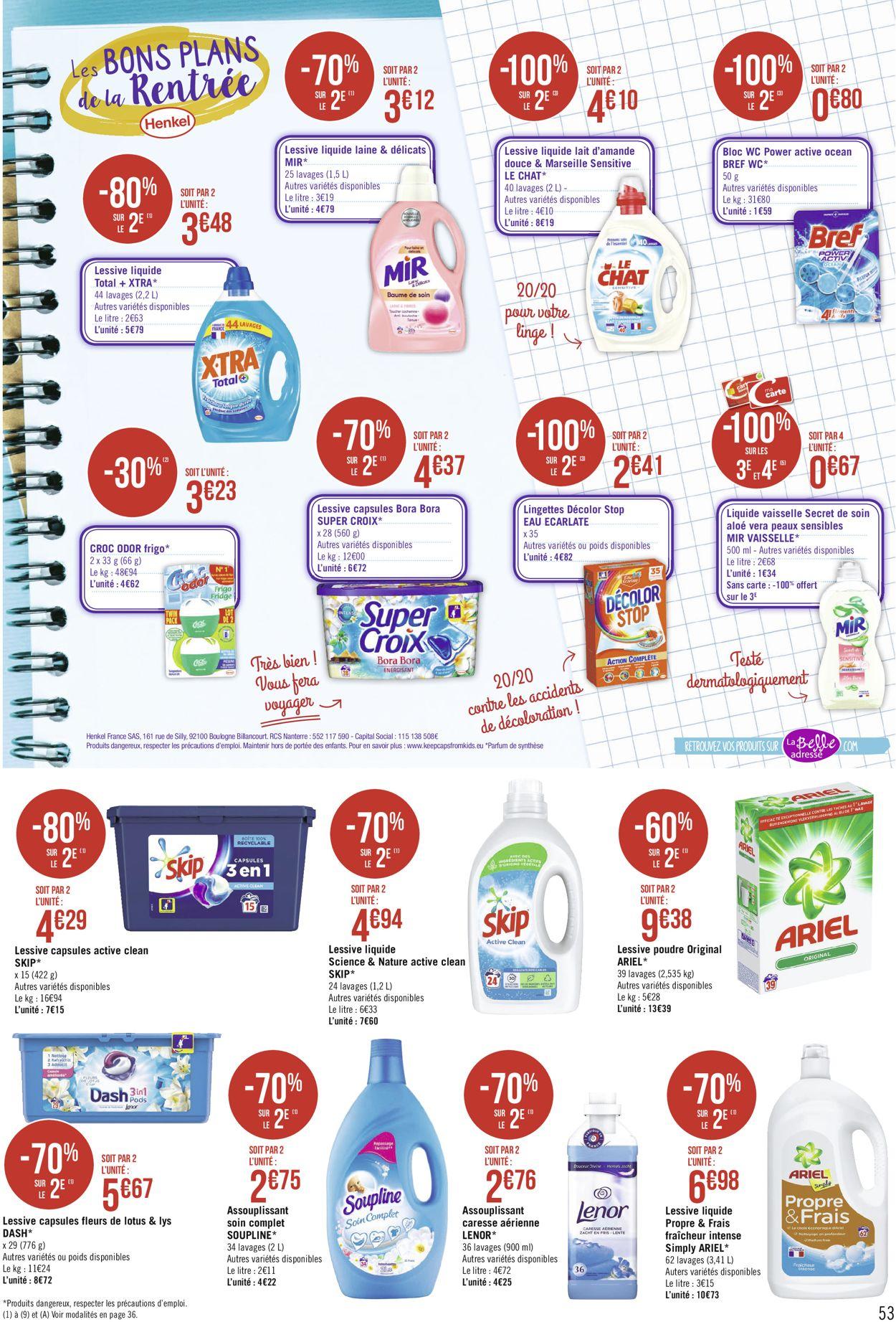 Géant Casino Catalogue - 31.08-13.09.2020 (Page 53)