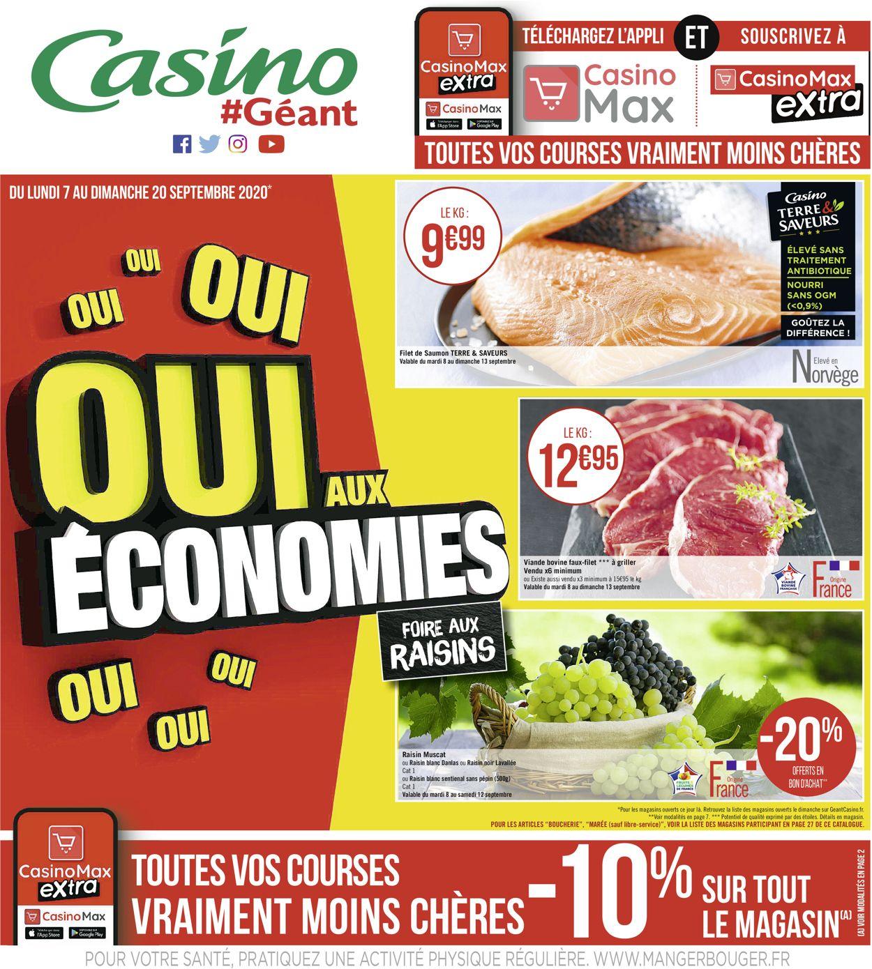 Géant Casino Catalogue - 07.09-20.09.2020