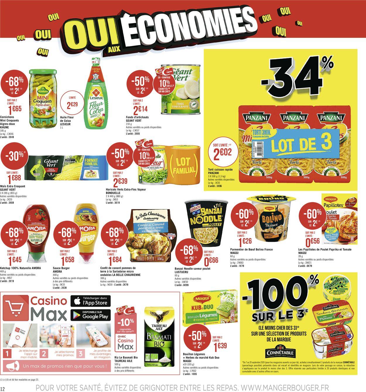 Géant Casino Catalogue - 07.09-20.09.2020 (Page 12)