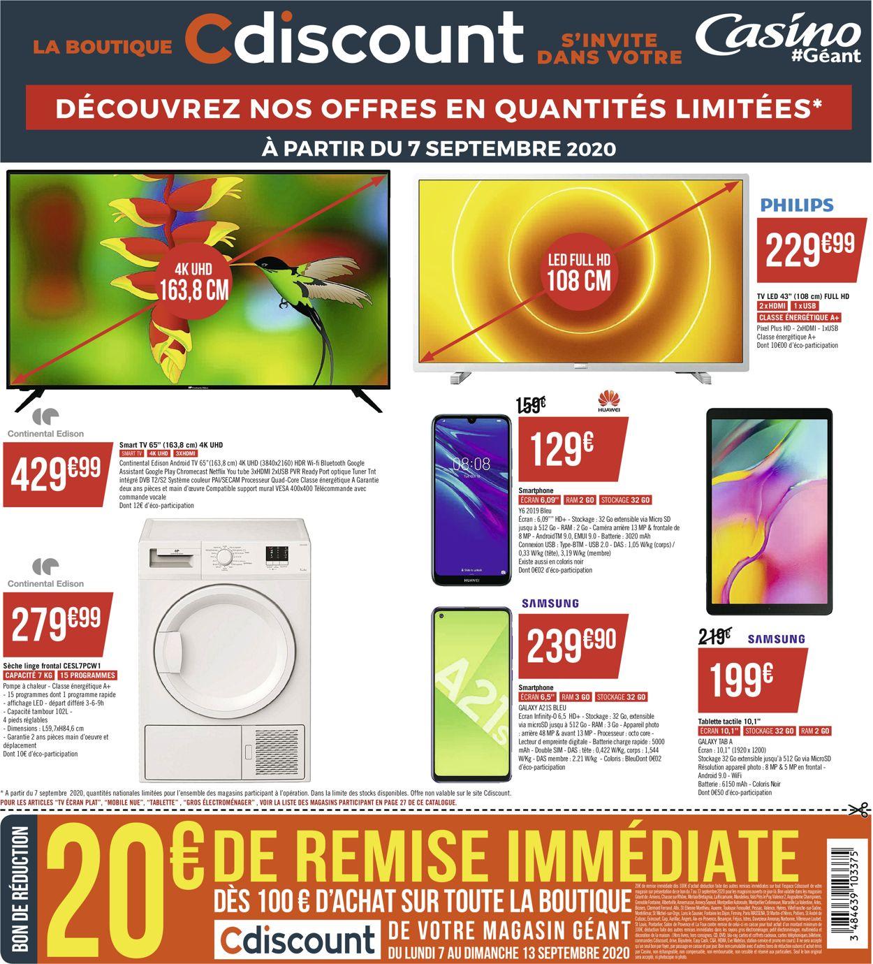 Géant Casino Catalogue - 07.09-20.09.2020 (Page 28)