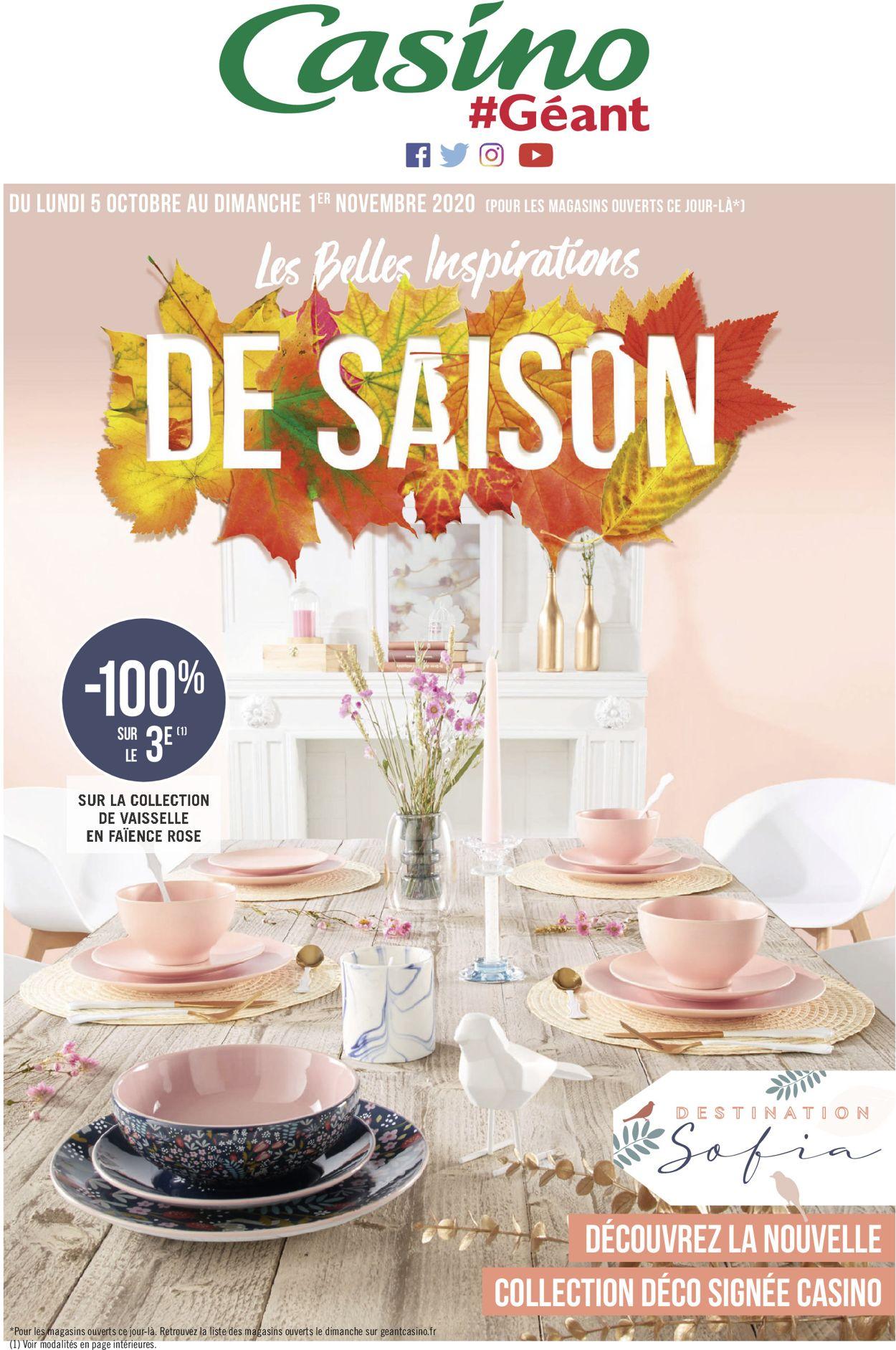 Géant Casino Catalogue - 05.10-01.11.2020