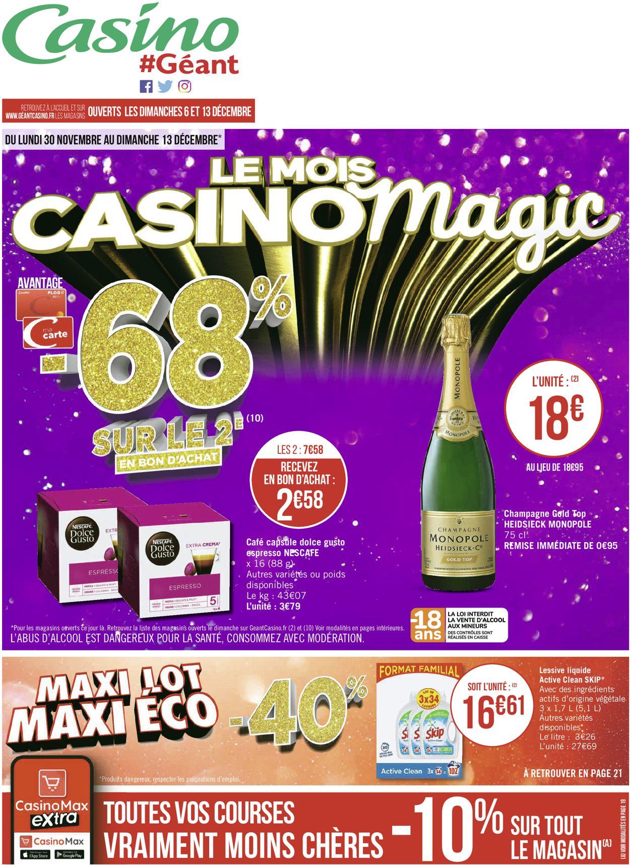 Géant Casino Catalogue - 30.11-13.12.2020