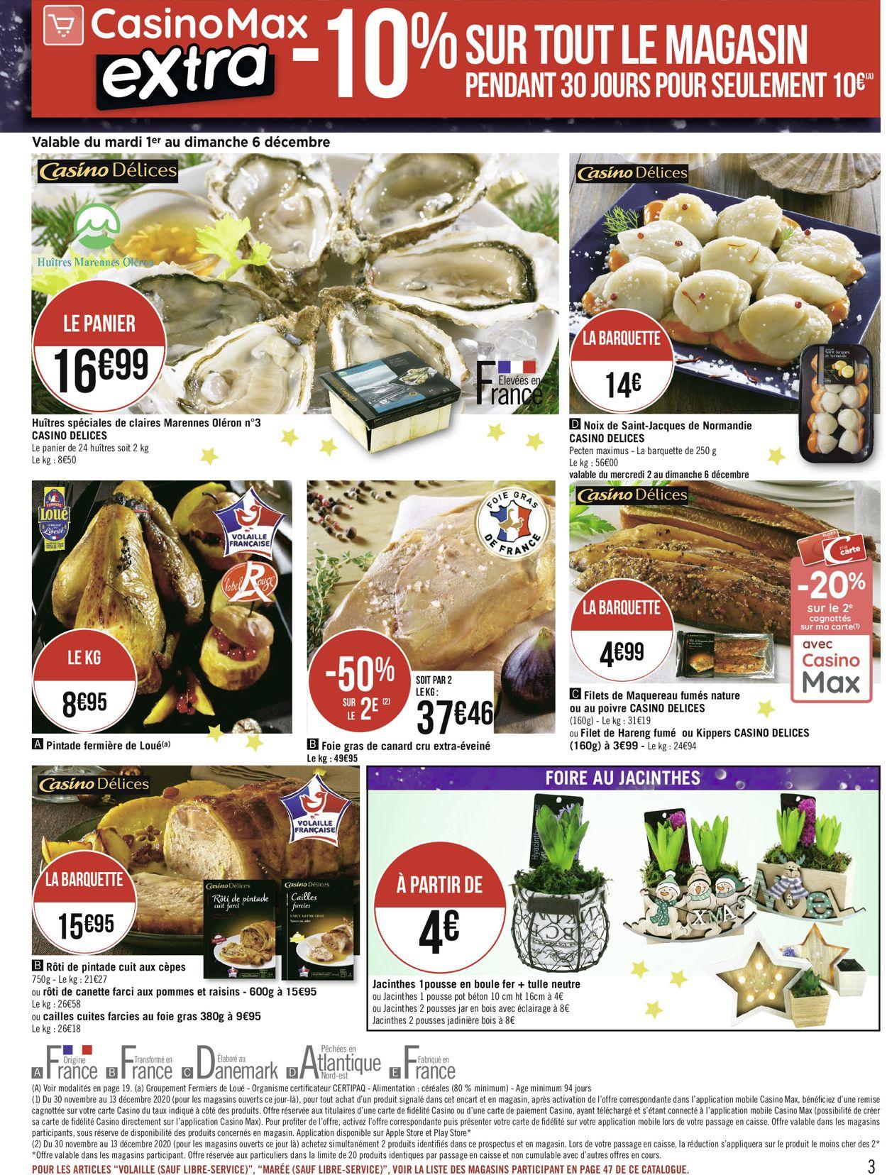 Géant Casino Catalogue - 30.11-13.12.2020 (Page 3)