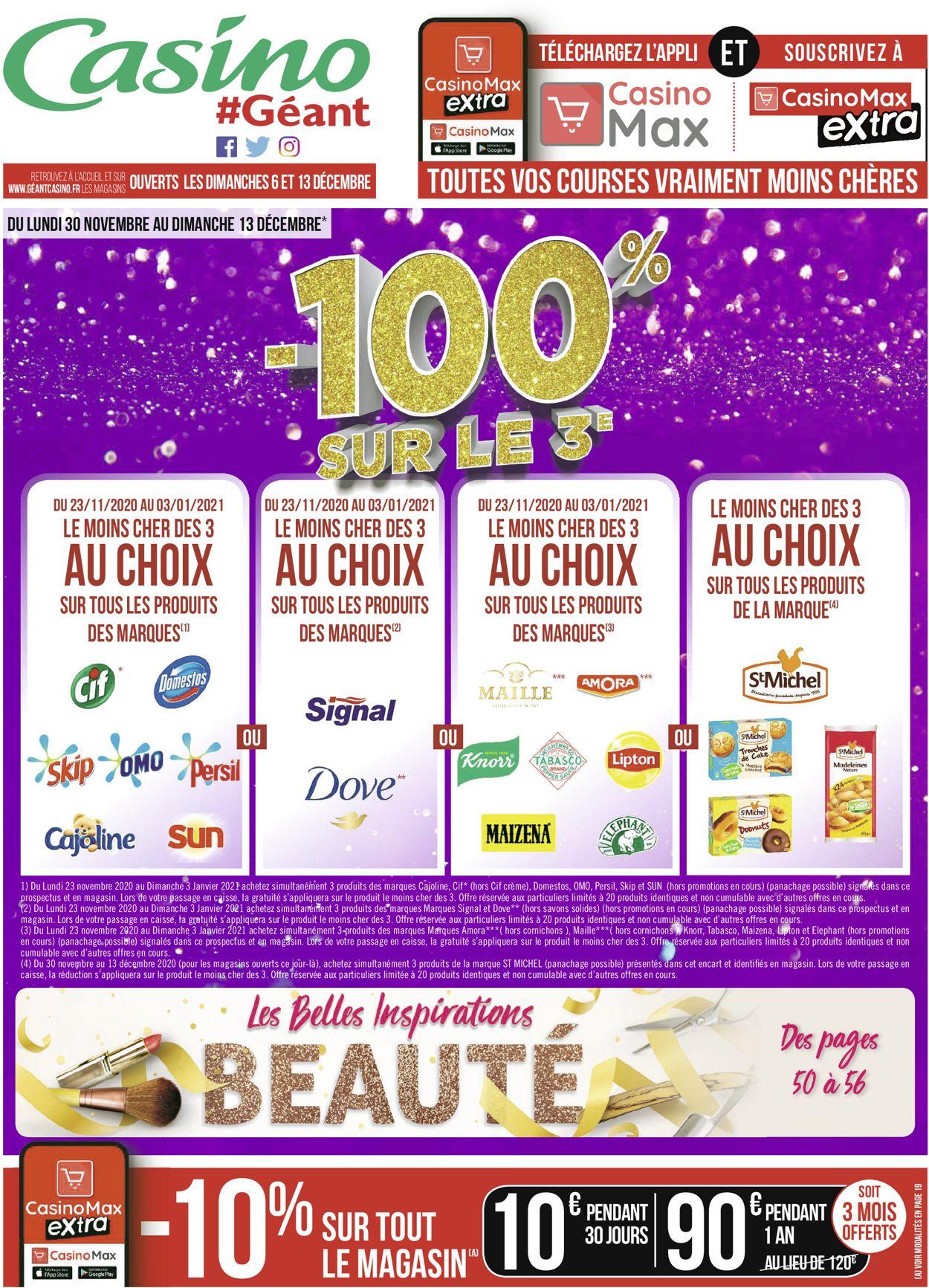 Géant Casino Catalogue - 30.11-13.12.2020 (Page 60)