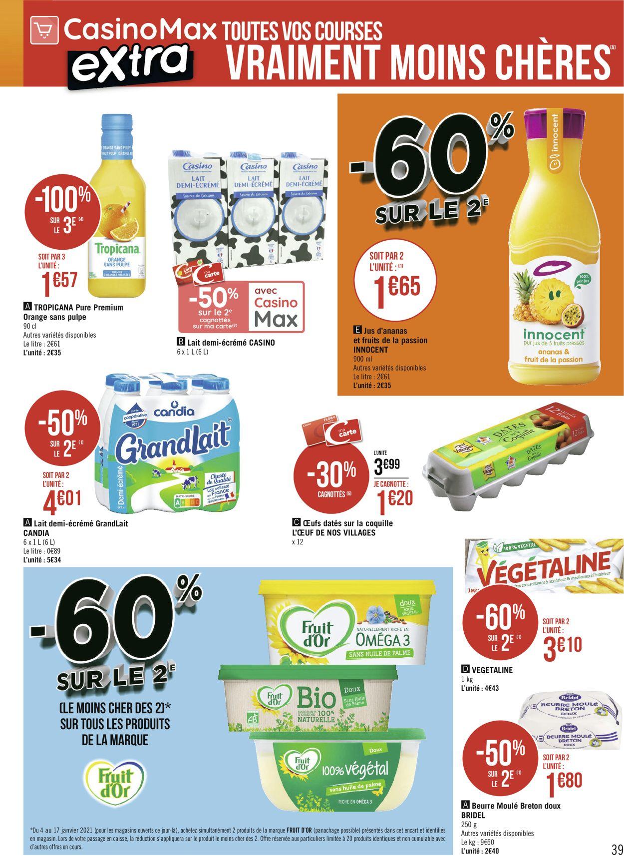 Géant Casino Catalogue - 04.01-17.01.2021 (Page 39)