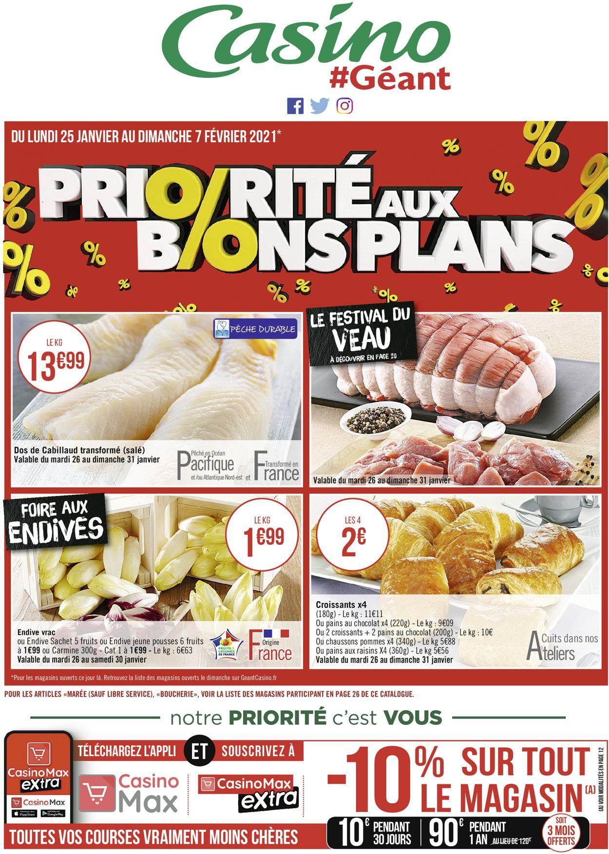 Géant Casino Priorité Aux Promos 2021 Catalogue - 25.01-07.02.2021 (Page 28)