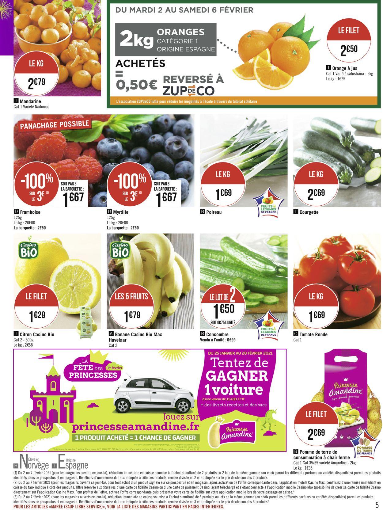 Géant Casino Votre mois Casinomania 2021 Catalogue - 01.02-14.02.2021 (Page 5)