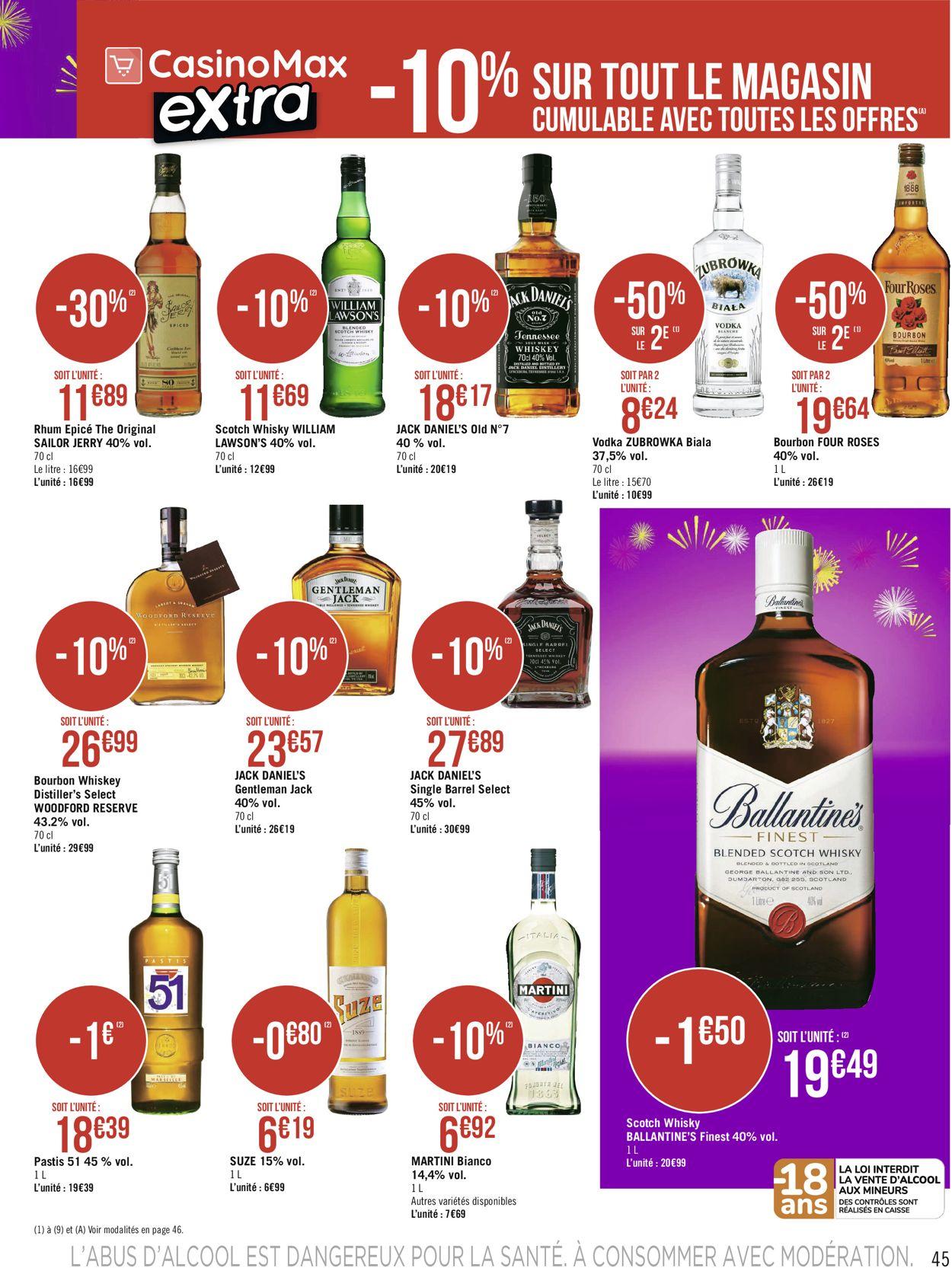 Géant Casino Votre mois Casinomania 2021 Catalogue - 01.02-14.02.2021 (Page 45)