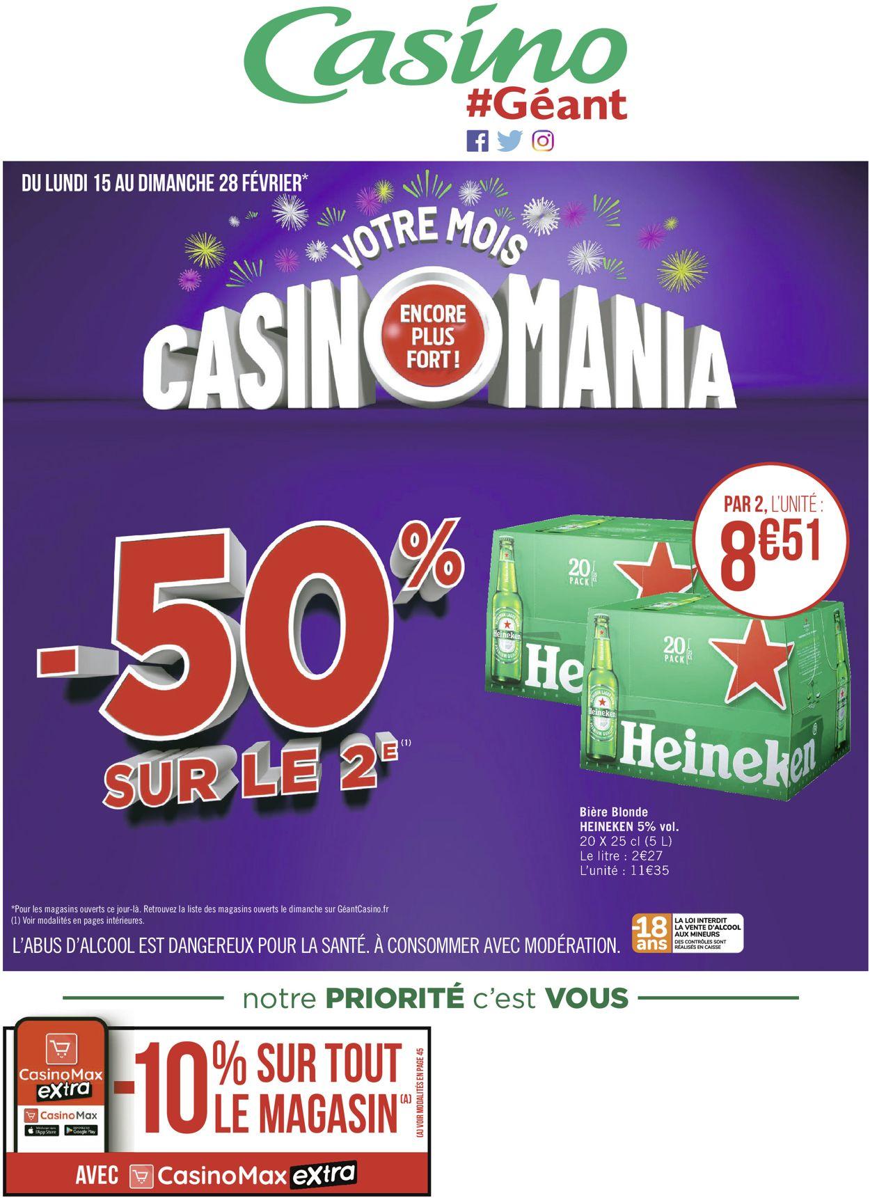 Géant Casino Catalogue - 15.02-28.02.2021