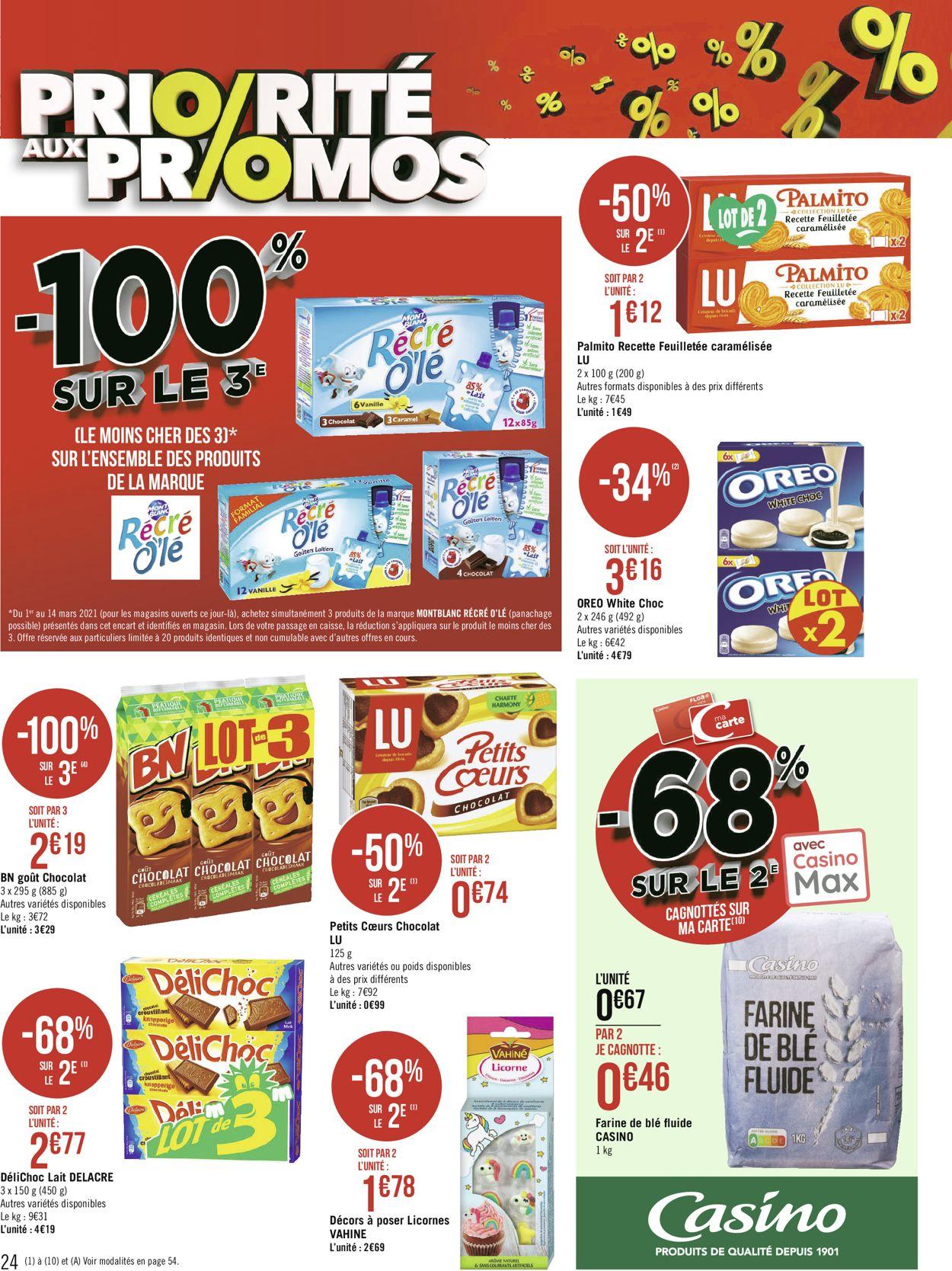 Géant Casino Catalogue - 01.03-14.03.2021 (Page 24)