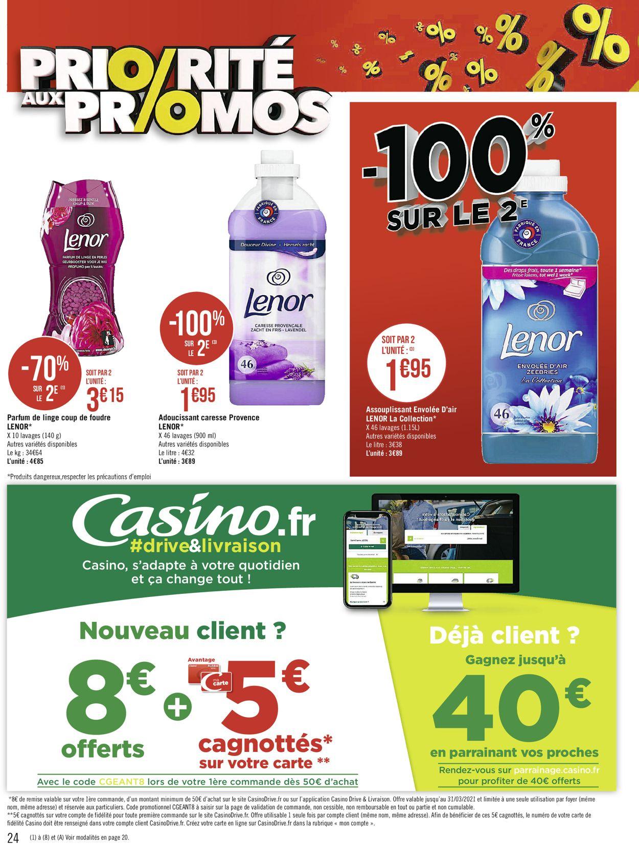 Géant Casino Catalogue - 08.03-21.03.2021 (Page 24)