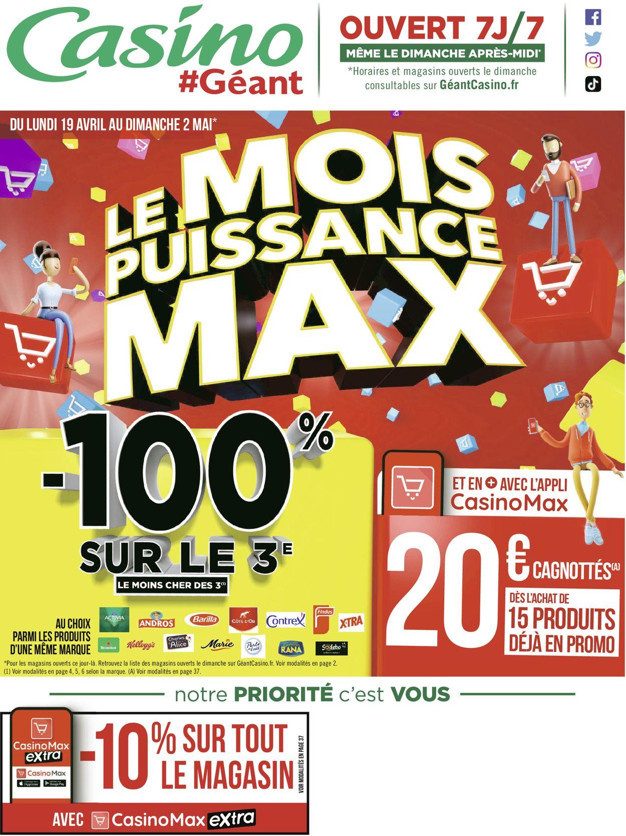 Géant Casino Catalogue - 19.04-02.05.2021