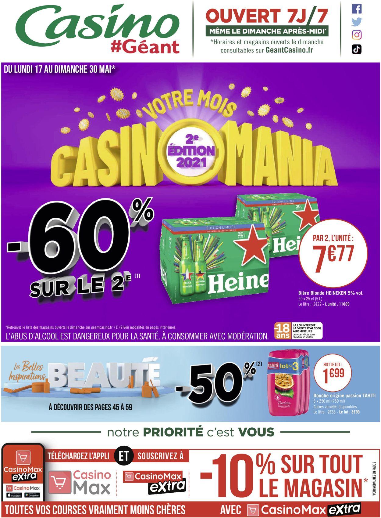 Géant Casino Catalogue - 17.05-30.05.2021