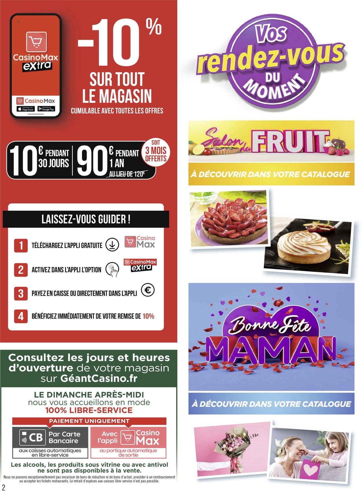 Géant Casino Catalogue - 17.05-30.05.2021 (Page 2)