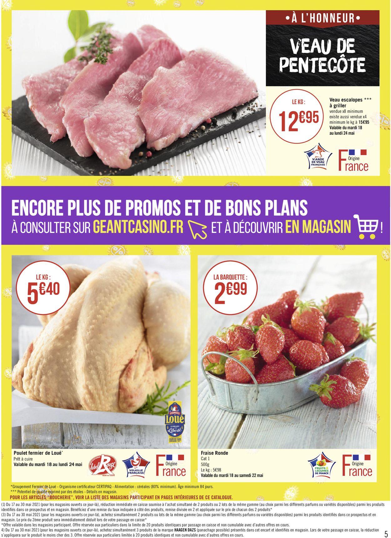 Géant Casino Catalogue - 17.05-30.05.2021 (Page 5)