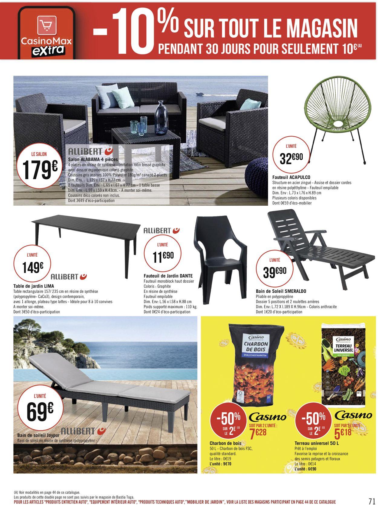 Géant Casino Catalogue - 17.05-30.05.2021 (Page 71)