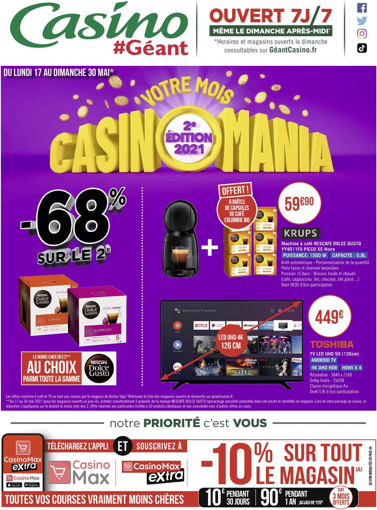 Géant Casino Catalogue - 17.05-30.05.2021 (Page 74)