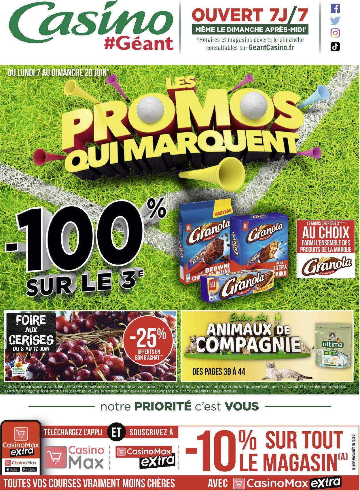 Géant Casino Catalogue - 07.06-20.06.2021