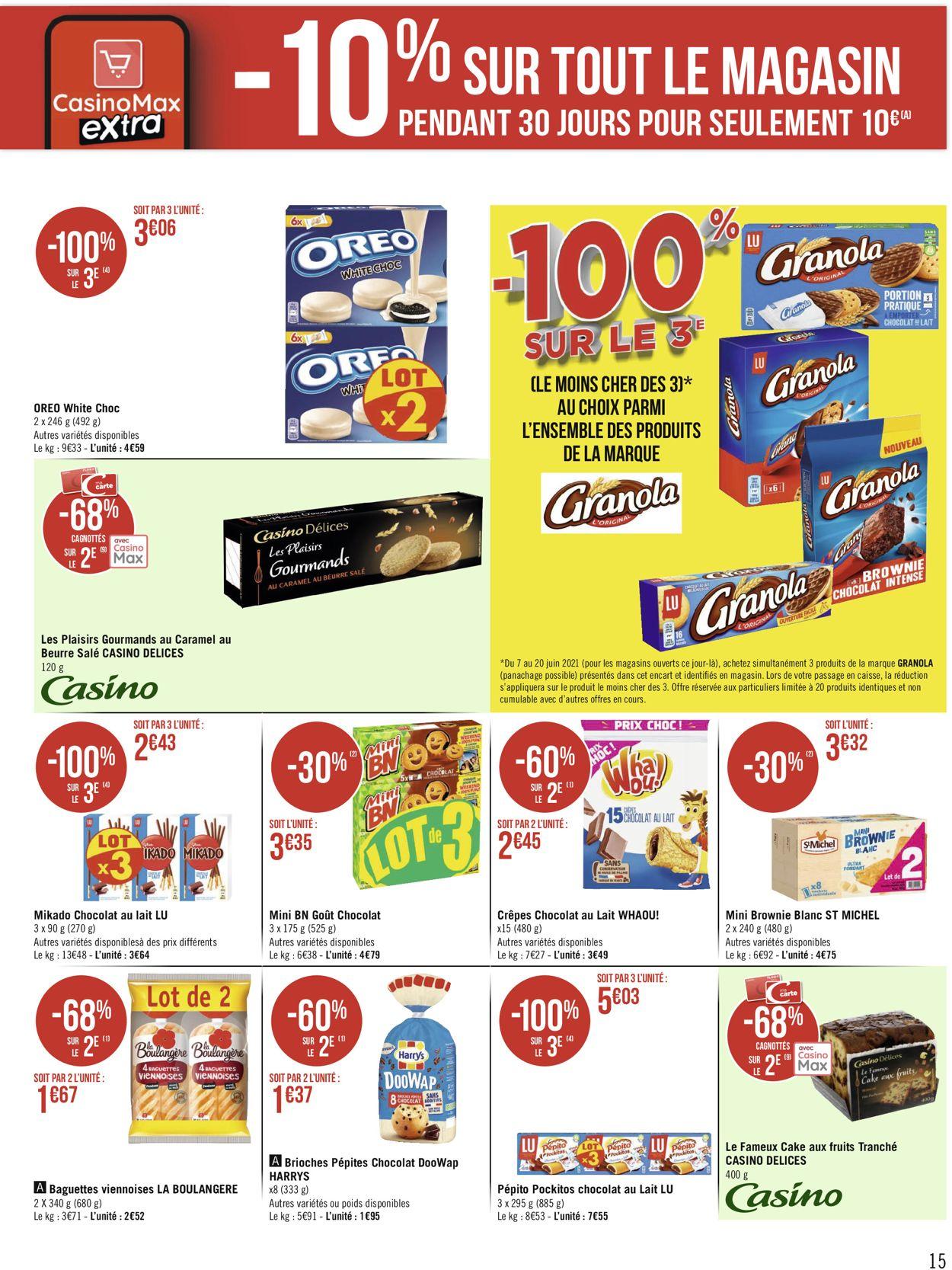 Géant Casino Catalogue - 07.06-20.06.2021 (Page 15)