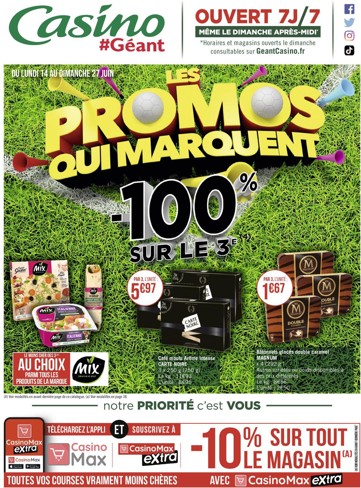 Géant Casino Catalogue - 14.06-27.06.2021