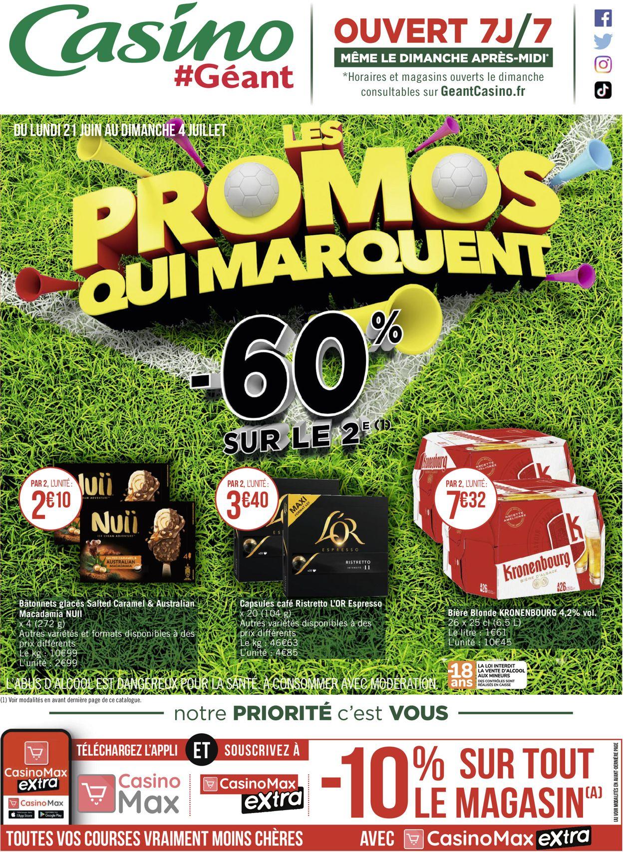 Géant Casino Catalogue - 21.06-04.07.2021