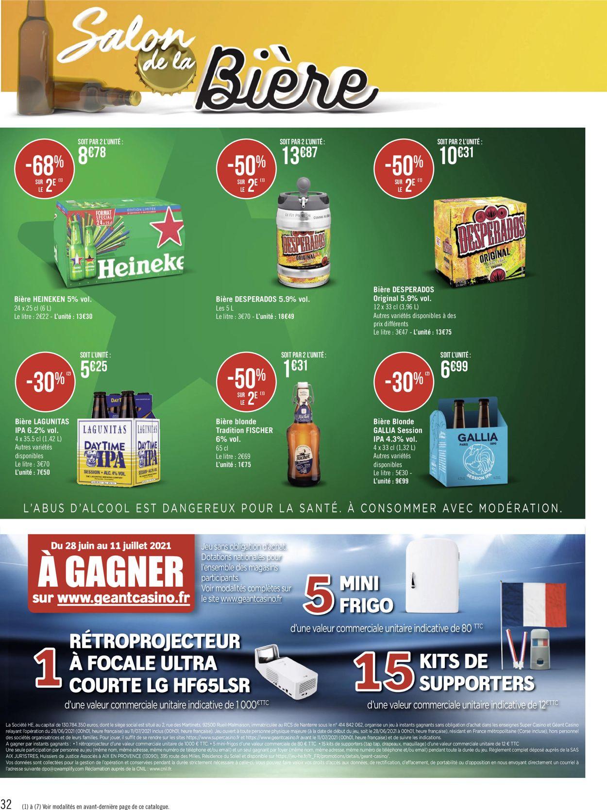 Géant Casino Catalogue - 28.06-11.07.2021 (Page 32)