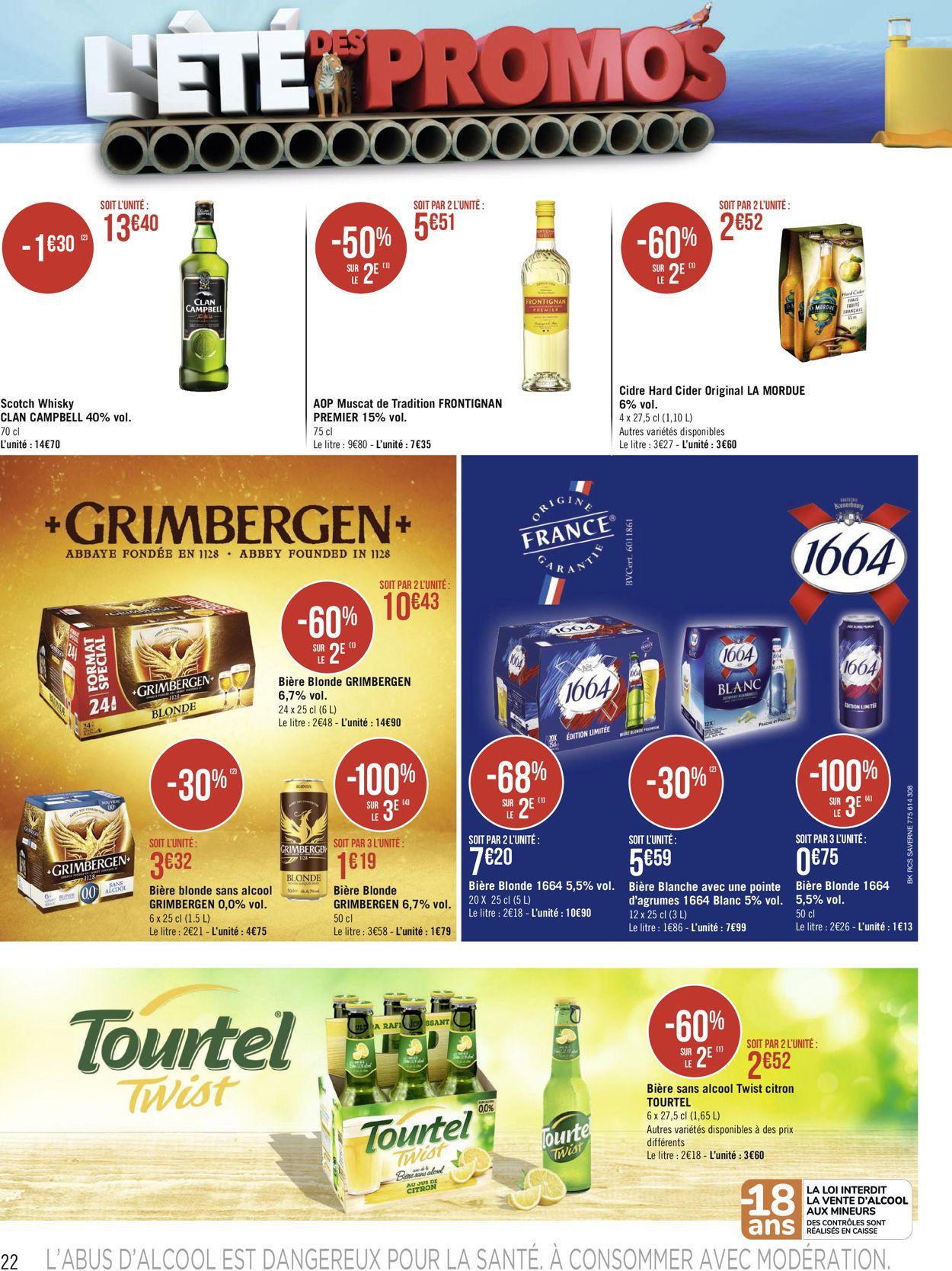 Géant Casino Catalogue - 05.07-18.07.2021 (Page 22)
