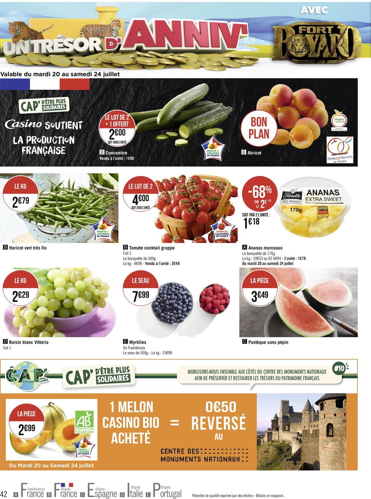 Géant Casino Catalogue - 19.07-01.08.2021 (Page 42)