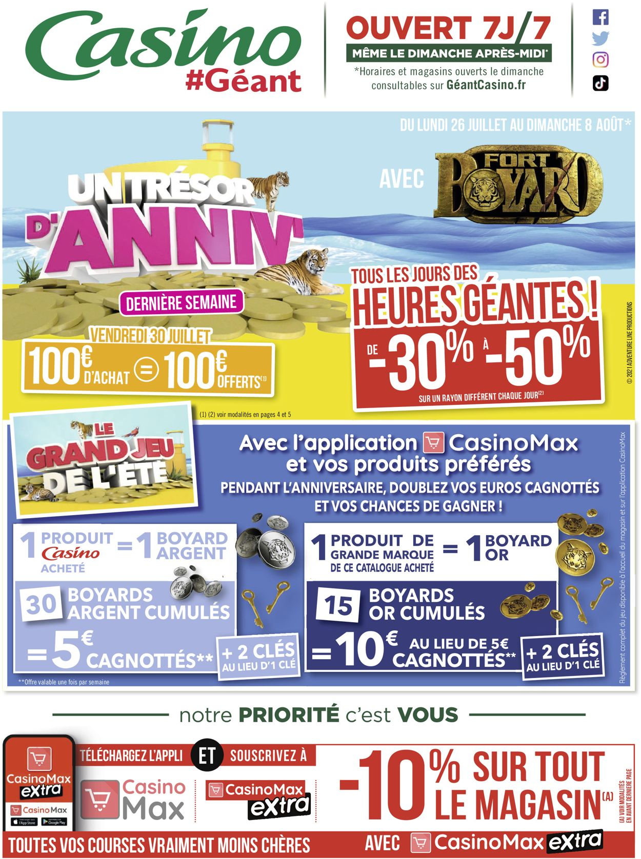 Géant Casino Catalogue - 26.07-08.08.2021