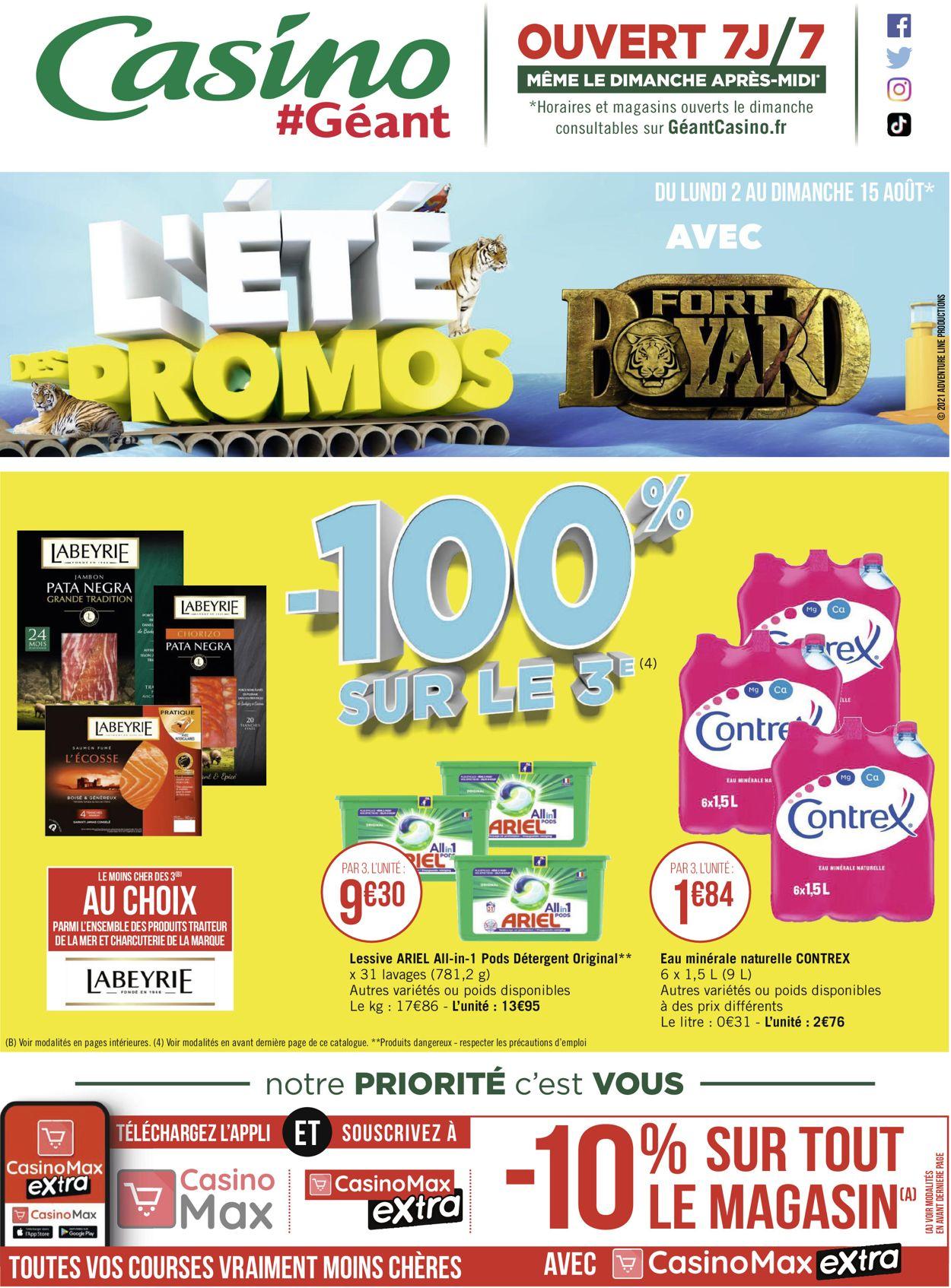 Géant Casino Catalogue - 02.08-15.08.2021