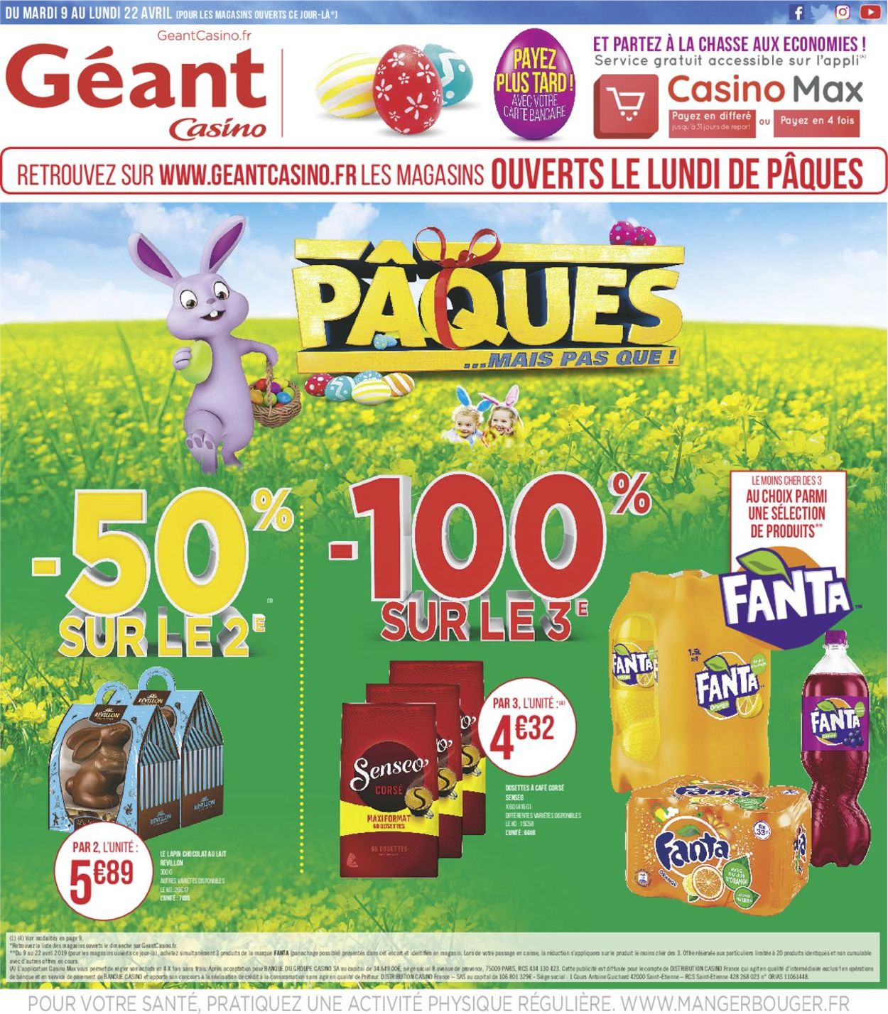 Géant Casino Catalogue - 10.04-30.04.2019